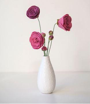 تصویر ساخت گل آلاله