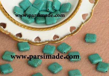 سنگ فیروزهای لوزی شکل