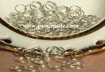 تصویر حلقه اتصال نقرهای