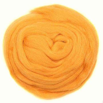 الیاف طبیعی کچه دوزی زرد پرتقالی
