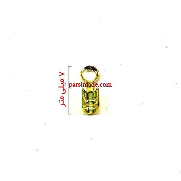 بست کتابی دستبند رنگ طلایی