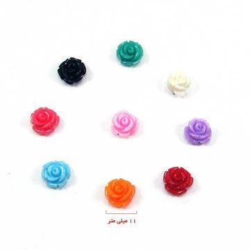گل پلیمری در 9 رنگ