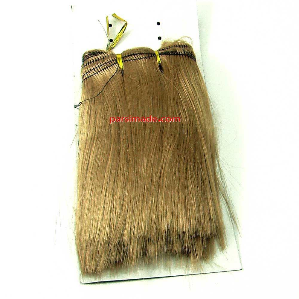 موی عروسک بافتنی . موی عروسک رنگ بلوند