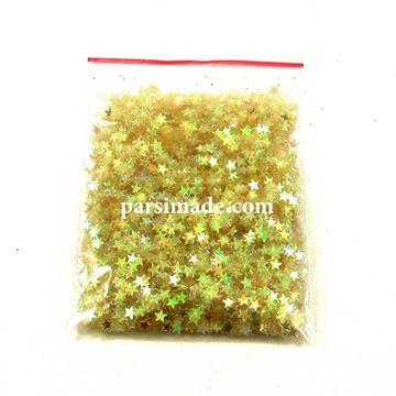 ستاره اکلیلی رنگ طلایی نباتی