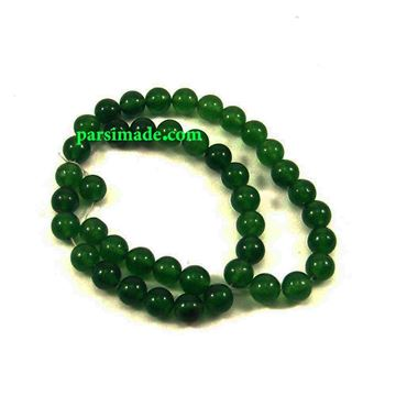 سنگ عقیق سبز تیره سایز 8