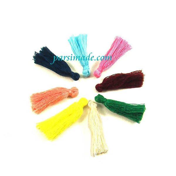 منگوله های تزئینی رنگارنگ