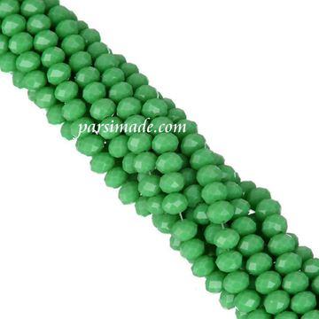 سنگ کریستالی تراش دار سبز