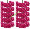 قطعه گل رز کاغذی کوچک رنگ سرخابی