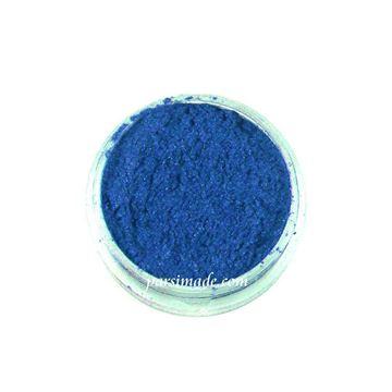 رنگ رزین پودری آبی صدفی