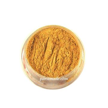 رنگ رزین پودری طلایی صدفی