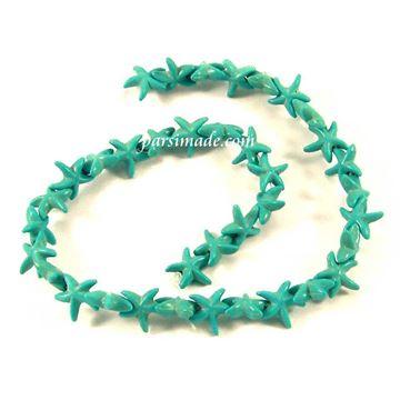سنگ فیروزهای طرح ستاره دریایی